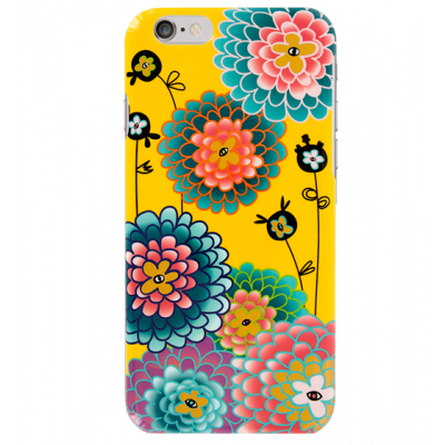 Coque pour iPhone 6 - I Cover 6 Dahlia