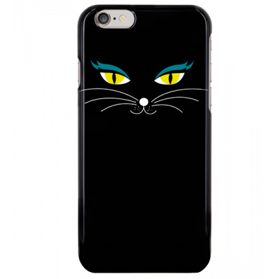 Schale für iPhone 6 - I Cover 6 Black Cat