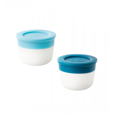 Monbento - Sauce container Light blue / Blue