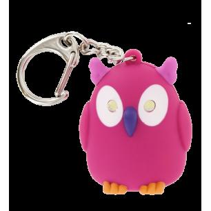 Porte clés LED - Keyled Chouette