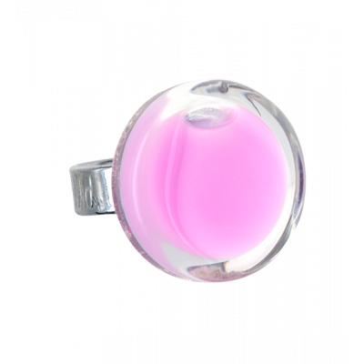 Glass ring - Cachou Mini Milk Bubble Gum