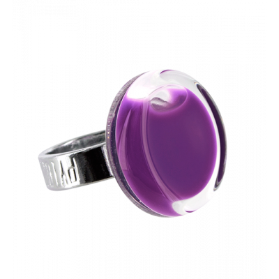 Cachou Mini Milk - Glass ring Purple