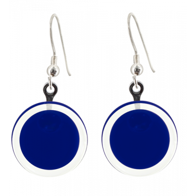 Cachou Milk - Hook earrings Dark Blue