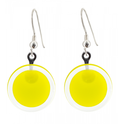 Cachou Milk - Hook earrings Yellow