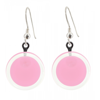 Boucles d'oreilles crochet - Cachou Milk Bubble Gum
