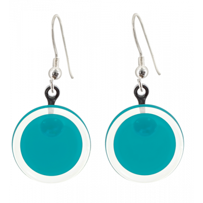Hook earrings - Cachou Milk Turquoise