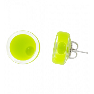 Stud earrings - Cachou Milk Light Green