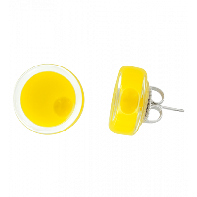 Cachou Milk - Stud earrings Yellow