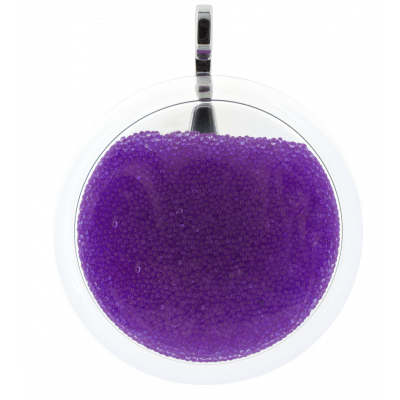 Necklace - Cachou Giga Billes Purple