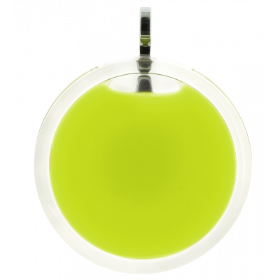 Necklace - Cachou Giga Milk Light Green