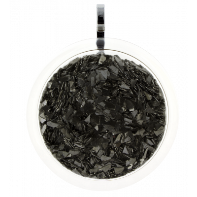 Necklace - Cachou Giga Paillettes Black