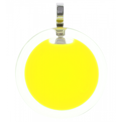 Necklace - Cachou Medium Milk Yellow