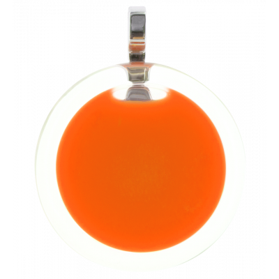 Necklace - Cachou Medium Milk Orange