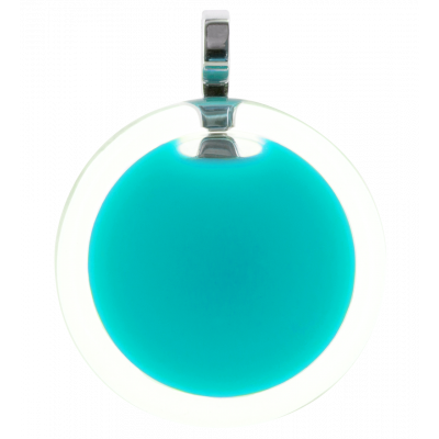 Necklace - Cachou Medium Milk Turquoise
