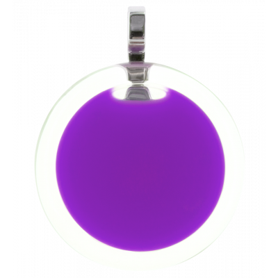 Necklace - Cachou Medium Milk Purple