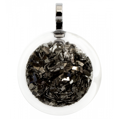 Necklace - Cachou Medium Paillettes Black