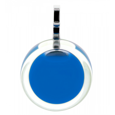 Necklace - Cachou Mini Milk Royal blue