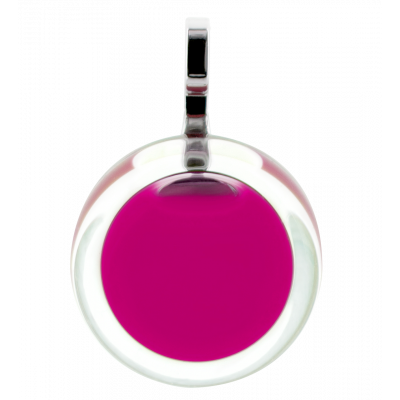 Necklace - Cachou Mini Milk Fuchsia