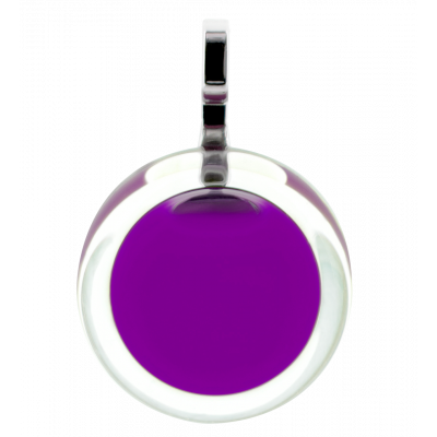 Necklace - Cachou Mini Milk Purple
