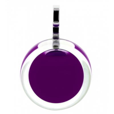 Necklace - Cachou Mini Milk Dark purple