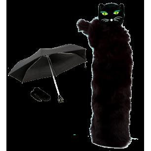 Compact umbrella - Chapka Black 2