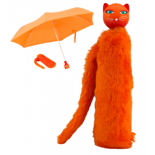 Compact umbrella - Chapka Orange