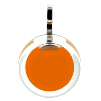 Pendentif - Cachou Mini Milk Orange