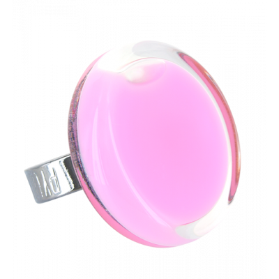 Cachou Medium Milk - Bague en verre Bubble Gum