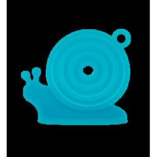Escargot - Collapsible funnel Blue