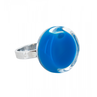 Cachou Nano Milk - Glass ring Royal blue