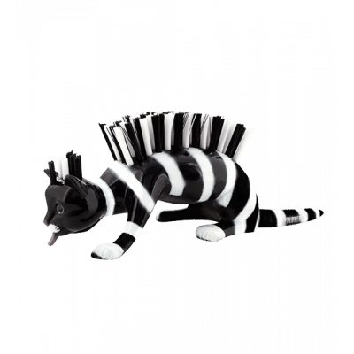 Caty - Nail brush Zebra