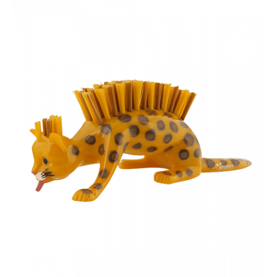 Caty - Nail brush Leopard