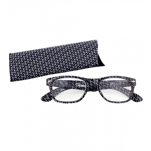 Lunettes x4 Carrées Eiffel N&B - Corrective lenses 100
