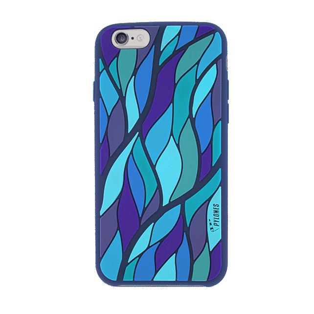 iphone 6 coque silicone bleu