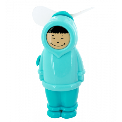 Pocket fan - Eskimo Boy Blue