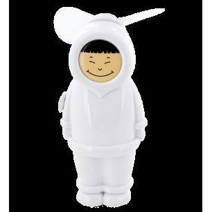 Ventilateur de poche - Eskimo Garçon Blanc