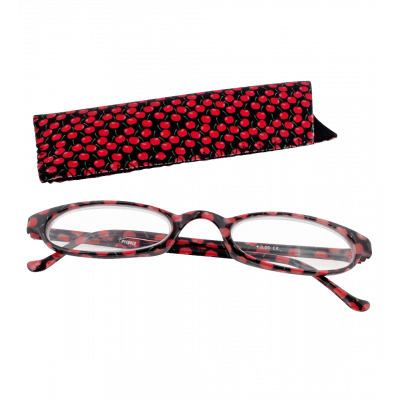 Lunettes x4 Ovales Cherry - Corrective lenses 100