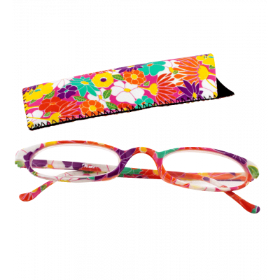 Lunettes x4 Ovales Flowers - Corrective lenses 100