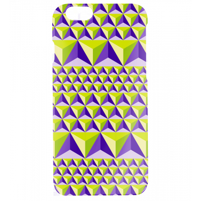 Coque pour iPhone 6, 6S - I Cover 6 Diamonds Effect Violet