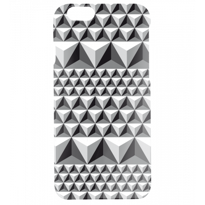 I Cover 6 Diamonds Effect - Cover per iPhone 6, 6S Nero