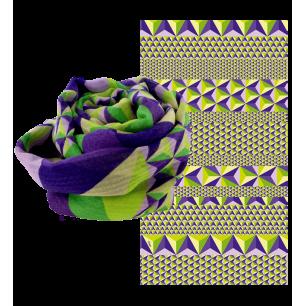 Halstuch - Balade En Hiver Violett