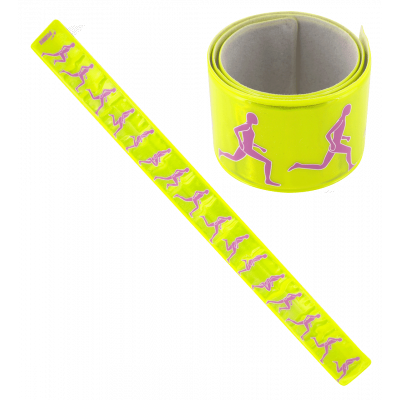 Reflective bracelet - Heroes Slap Yellow