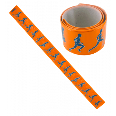 Heroes Slap - Reflektierendes Armband Orange