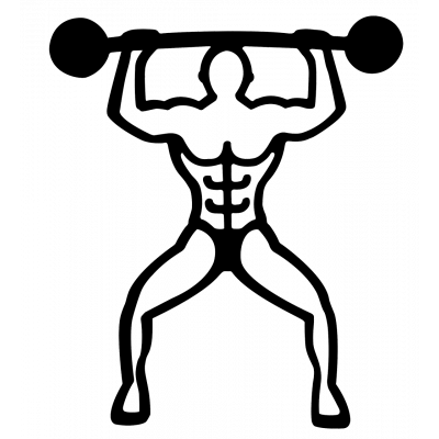 Magnetic Trivet - Bodybuilder Black
