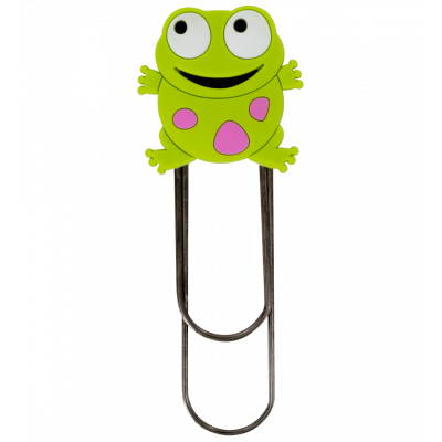 Large bookmark - Ani-bigmark Frog