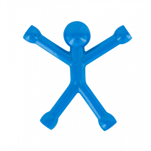 Mini Qman - Opaque magnet Blue