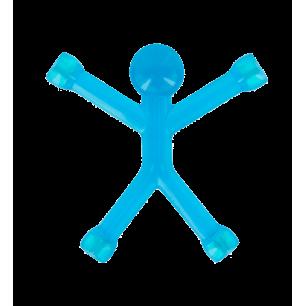 Mini Qman – Durchscheinender Magnet Blau