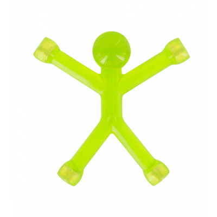 Mini Qman - Calamita traslucida Verde Chiaro