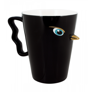 Mug - Maxi Tweet Black