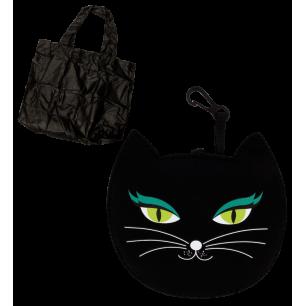 My Shopping - Shopping bag Black Cat